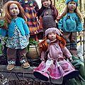 Cinq filles sur un balcon...