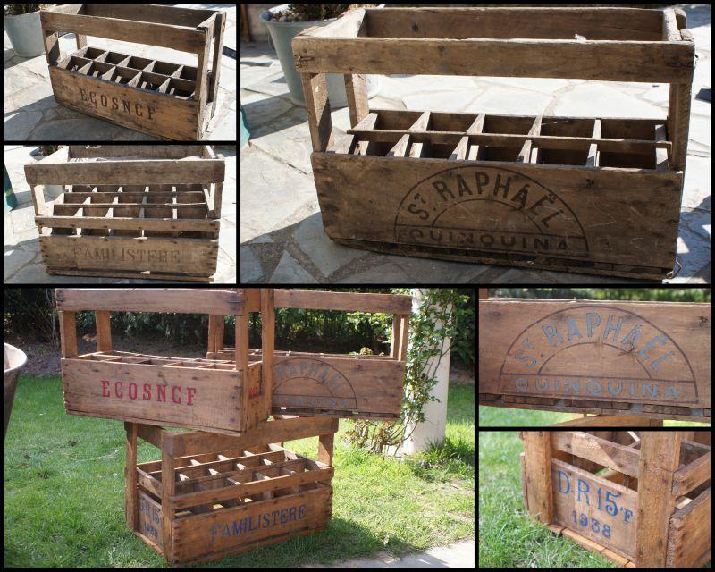 Ensemble pour jardin pat re et casiers bouteilles bricoles et m tines d tournement d - Faire ses casiers a bouteilles ...