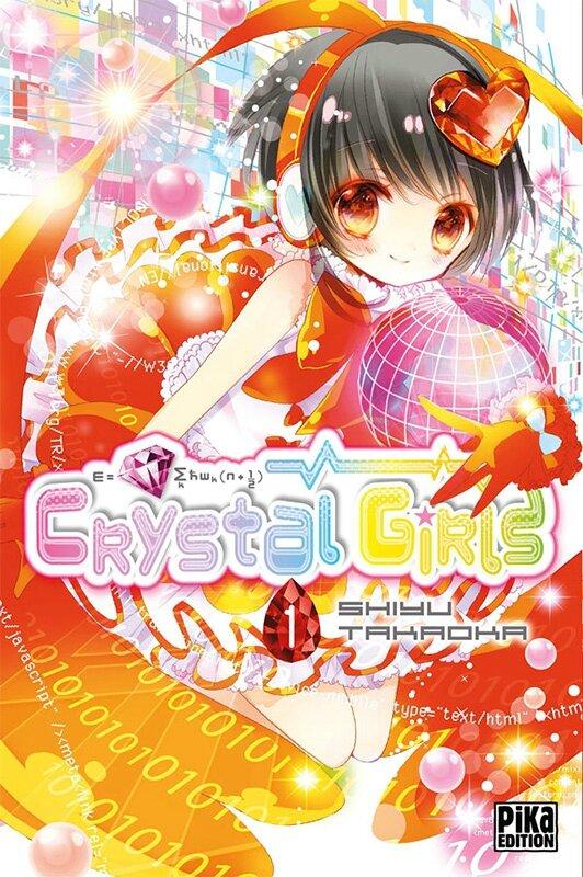 Crystal Girls tome 01 de Shiyu Takaoka chez Pika shôjo Kodomo
