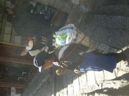 Femme Naxi, Lijiang
