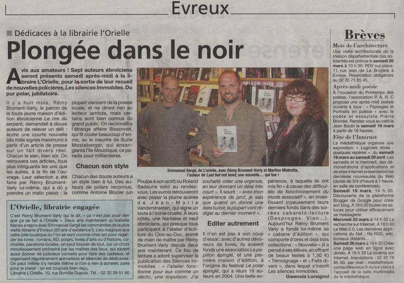 La Dépêche 18 mars 2011