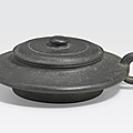 An yixing pottery teapot, chen mingyuan mark