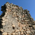 2009 03 15 Un reste de mur du château de la Tourette