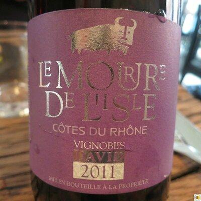 Côtes-du-Rhône Le Mourre de l'Isle 2011