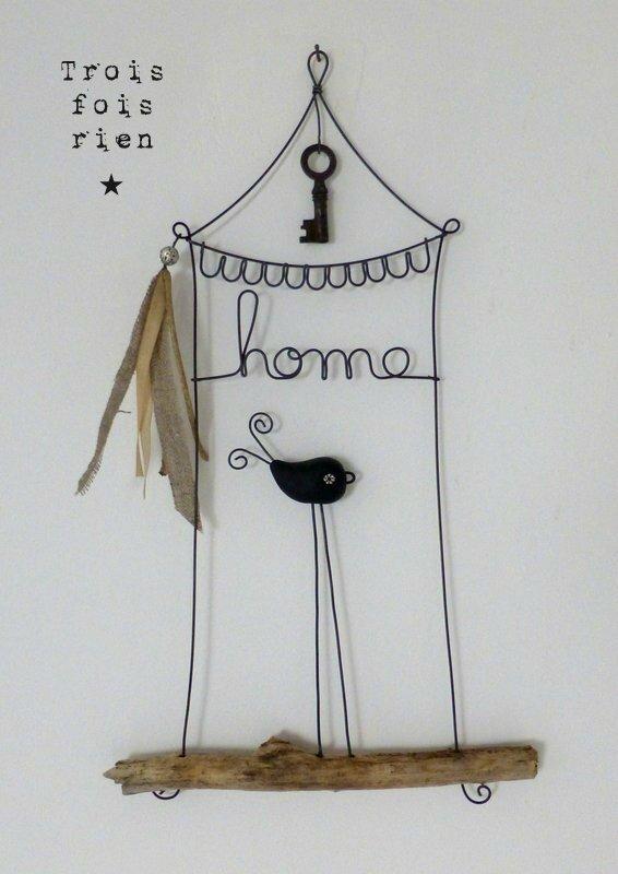 piou septembre 2014, oiseau fil de fer, wire bird N°375