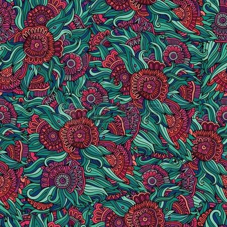 37632609-vector-seamless-pattern-de-fleurs-abstraites-sans-fin-arriere-plan