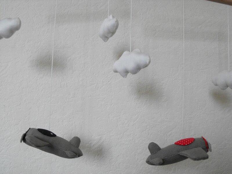 Nuages et avions