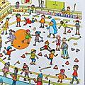 Cherche et trouve - La patinoire