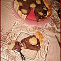 Tarte choco poire rapide