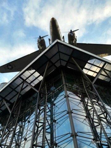 Entrée Musée - Douglas C-47 Skytrain - Deutsches Technikmuseum - Berlin