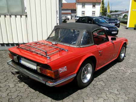 triumph tr6, 1969 1976, 4