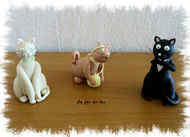 Trio de chats 1