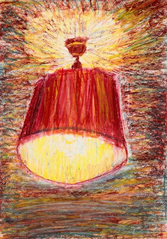 Lampe de ma chambre 1973 pastel gras_NEW