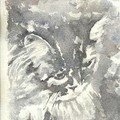 Chat-aquarelle