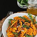 Salade de courge butternut aux graines