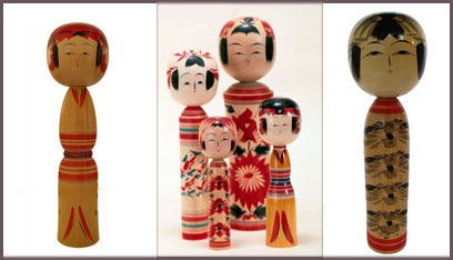 kokeshi_traditionnelles