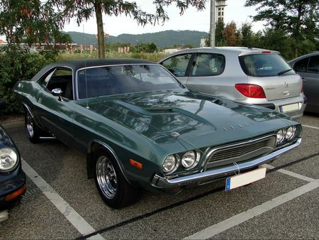 dodge challenger, 1972, rencard du burger king offenbourg 2012 3