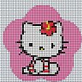 hello kitty point de croix