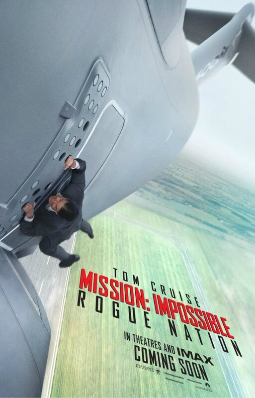 Mission Impossible 5 (affiche)