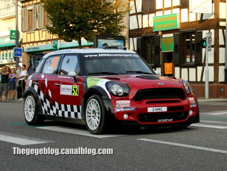 Mini John Cooper Works (Meeke - Nagle)(Rallye de France 2011) 01