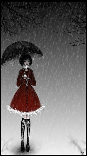 it_is_sad_how_the_rain_falls_by_Sibylle