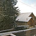 - aujourd'hui premiere neige -