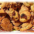 cookies chèvre figues
