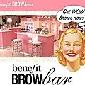 Benefit brow bar : get wow brows now ! (avant - après)