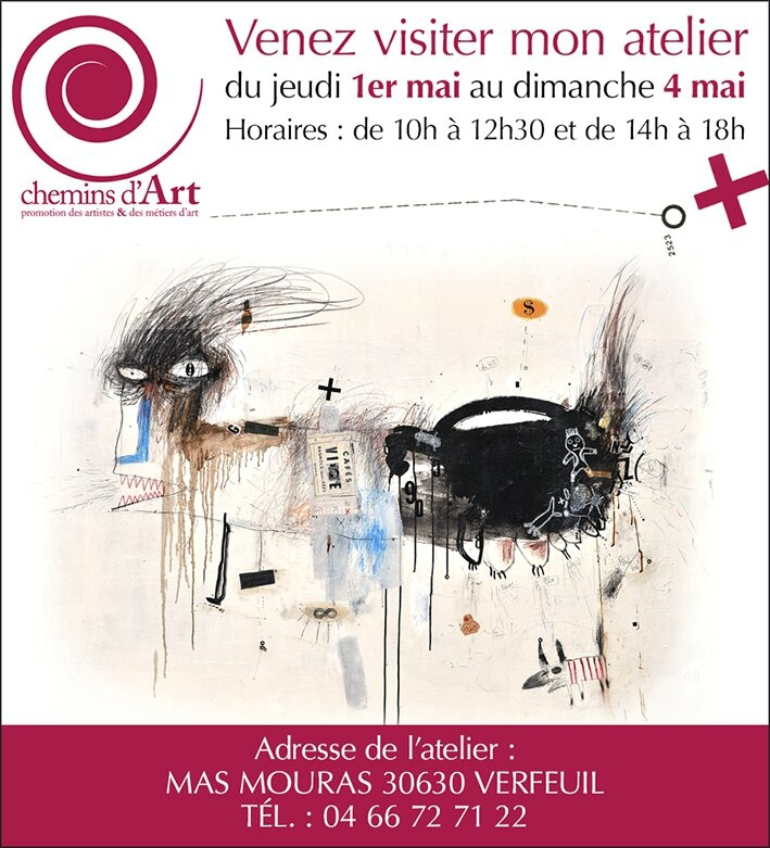 INVITATION CHEMIN D'ART