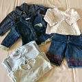 Lot de 6 vêtements de marques fille en 1 ans