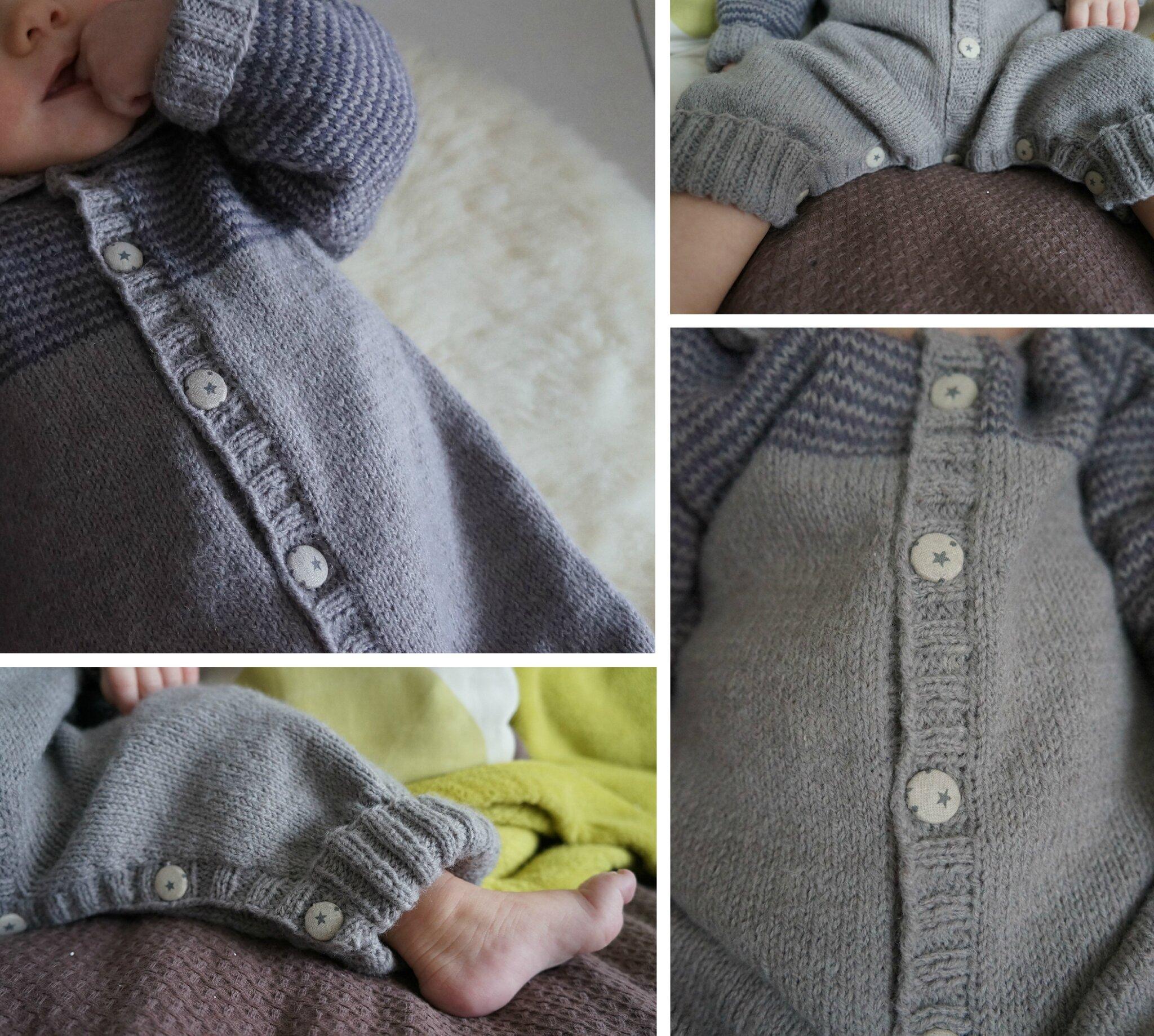 modele combinaison tricot bebe gratuit