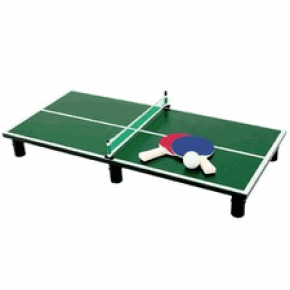 Mini table ping pong go sport table de lit a roulettes - Leclerc table de ping pong ...