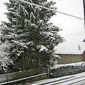 - aujourd'hui lundi vraiment la neige -