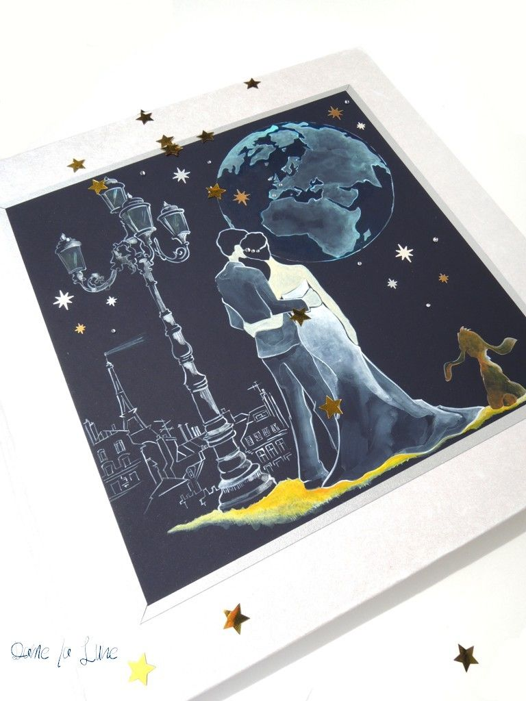 - FAIRE-PART de mariage Livre d'Or illustration
