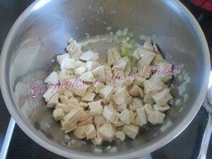 Fougasse au poulet et ses petits légumes24