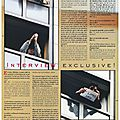 Interview exclusive michael jackson (en australie) - black & white n°21, mars 1997