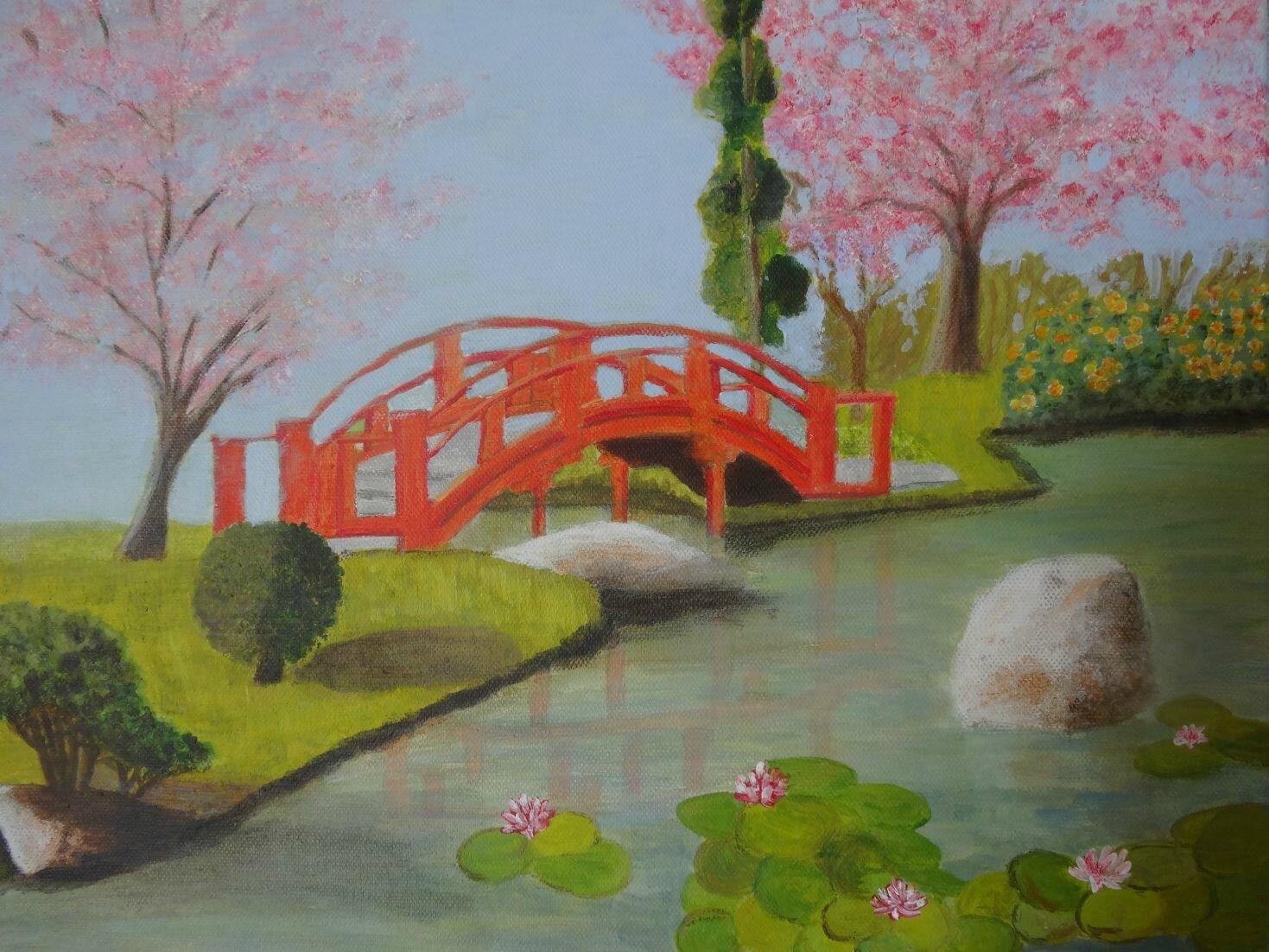 Jardin japonais dessins peintures et photos de guapeta - Dessiner un jardin en 3d ...