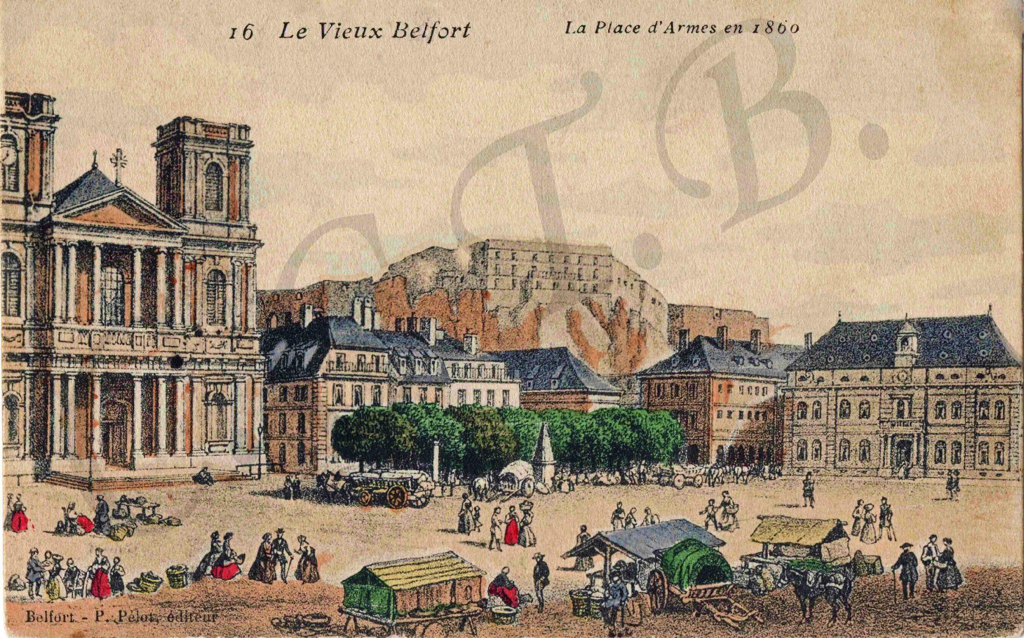 Les squares de Belfort (Episode initial) : Les origines des squares