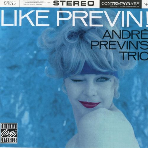Andre Previn Trio - 1960 - Like Previn! (Contemporary)