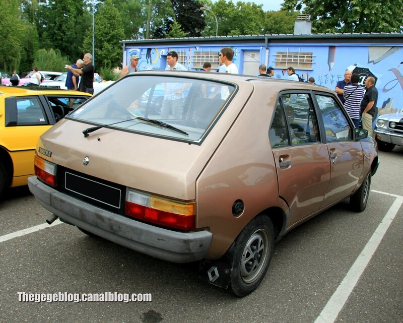 Renault 14 TS phase 2 (1980-1983)(Retrorencard aout 2013) 02