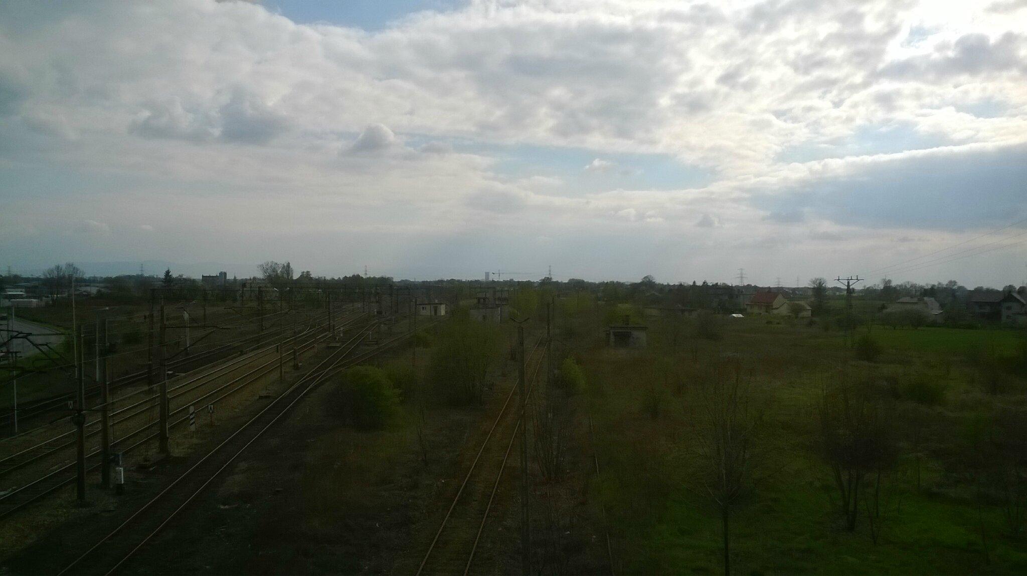Auschwitz (Pologne) Poste Bifurcation pour Birkenau
