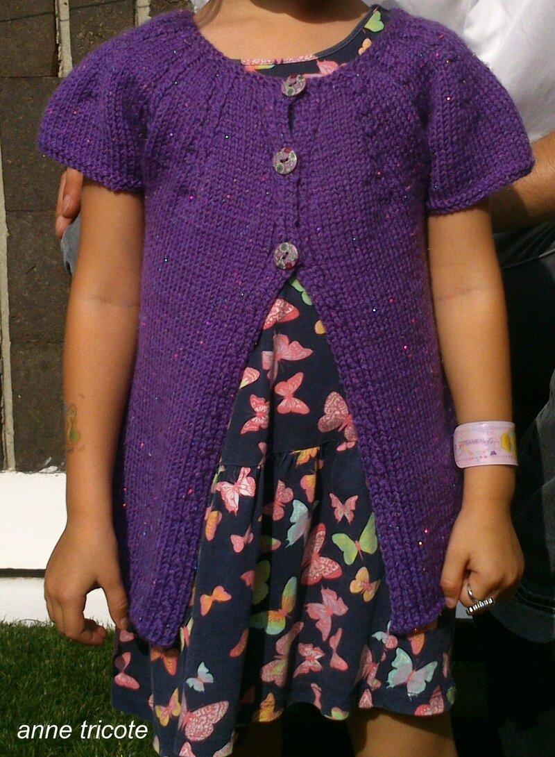 gilet Haimi violet (2) 1