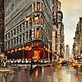 NEW YORK SUR TOILE