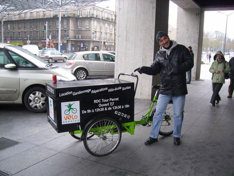 Un joli vélo pour quelqu'un de notre connaissance