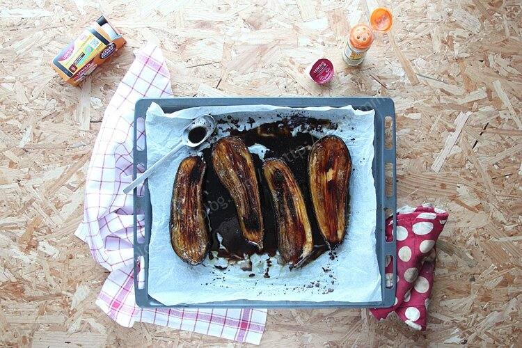 aubergine chicoree 003 LE MIAM MIAM BLOG