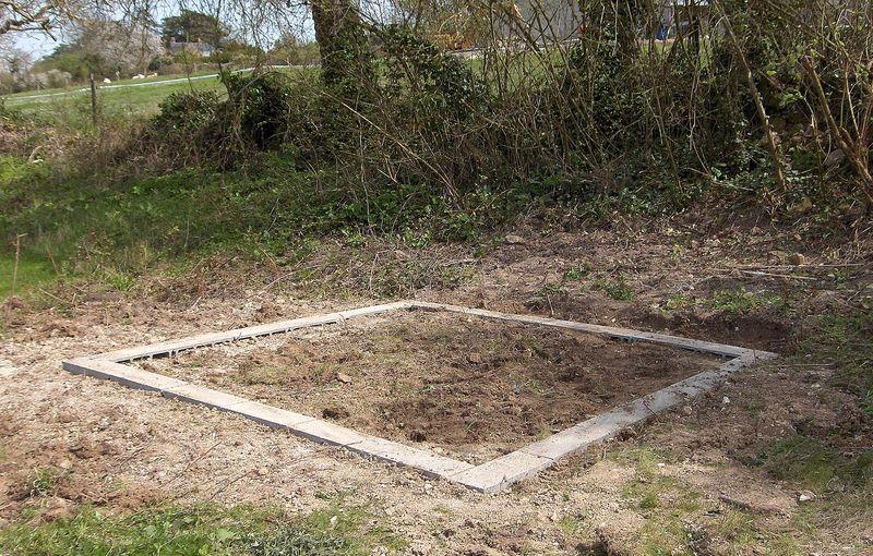Ordinary Fondation Pour Abri De Jardin #11: Préparation De Plots ...