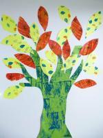 arbre vert reduit