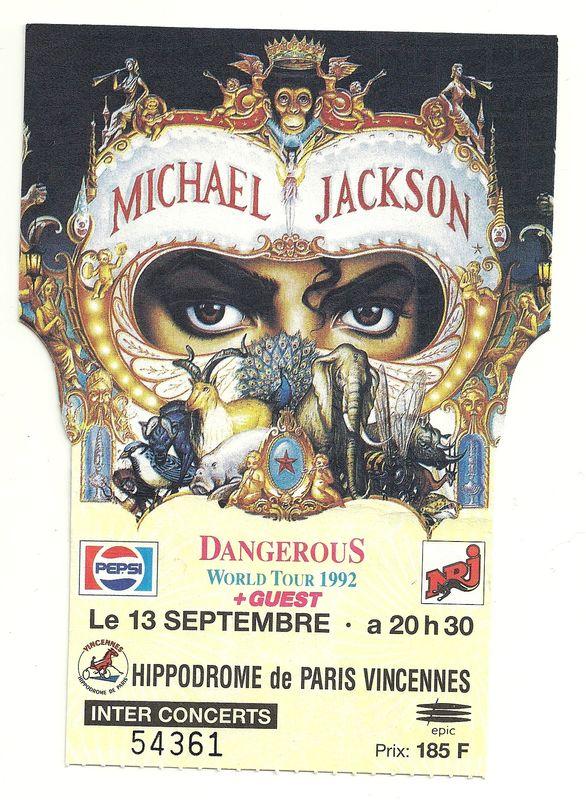 ticket dangerous0001