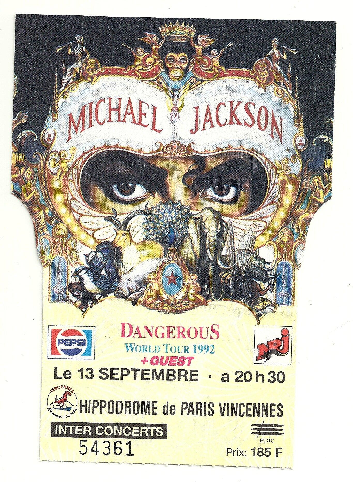 Dangerous World Tour Bucharest