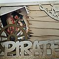 Mini-album pirate